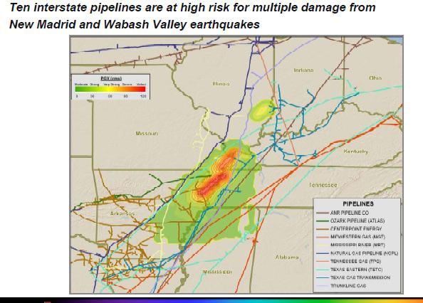 New Madrid Earthquake Seismic Zone Maps P3
