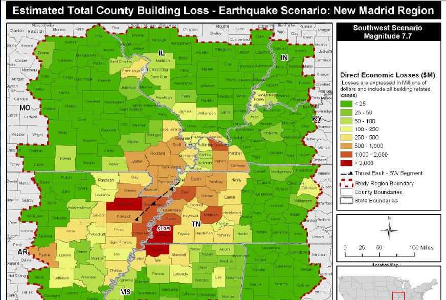 the new madrid fault zone The new madrid fault system does not behave as earthquake hazard models assume and may be in the process of shutting down, a new study shows.