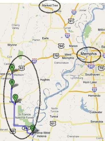 Fault Line west of Memphis could produce big quakes