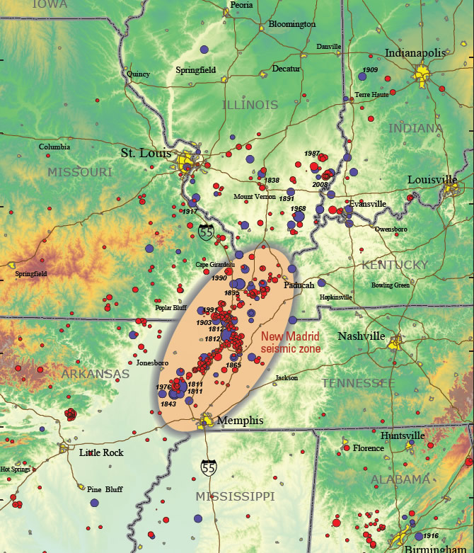 New Madrid Fault linked to oil and gas fracturing