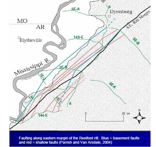 Porter39s Gap West Tennessee Quake Fault